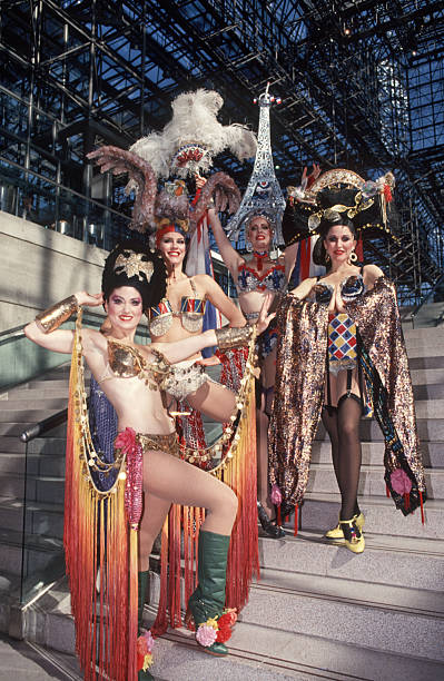 Girls From Cabaret As Differnt Currencies Pictures Getty Images