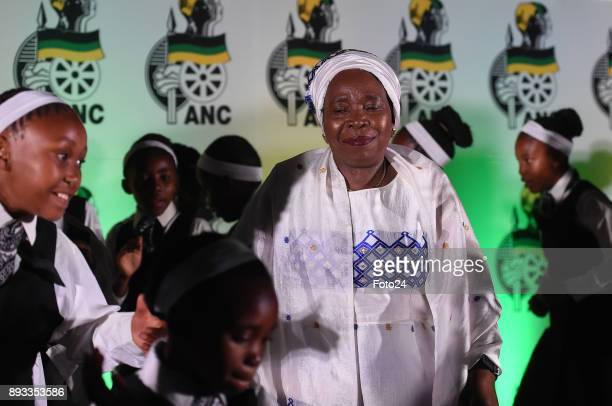 Girls from the Chief Albert Luthuli Primary school performes for Dr Nkosazana DlaminiZuma during the Gala Dinner in honour of DlaminiZuma held at the...