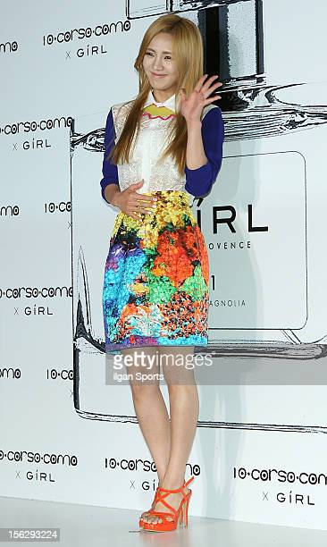 Girls' Generation attend the '10 Corso Como' Collaboration With Perfume 'Girl' Launching Party on June 7, 2012 in Seoul, South Korea.