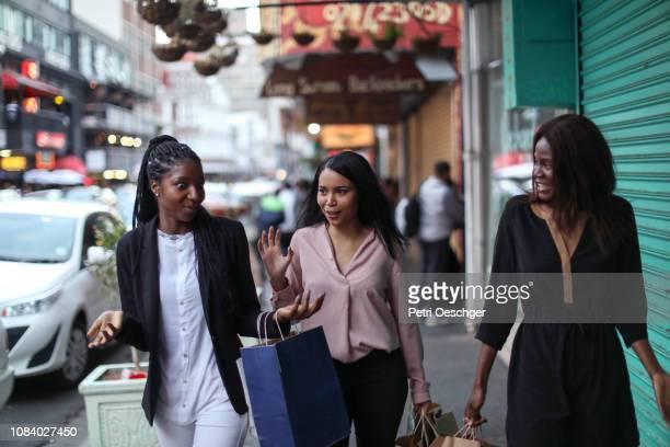 Girls gone shopping.