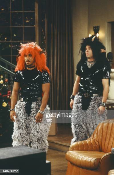 JENNY 'A Girl's Gotta Deck the Halls' Episode 7 Pictured Dale Godboldo as Cooper Rafer Weigel as Max Photo by Alice S Hall/NBCU Photo Bank