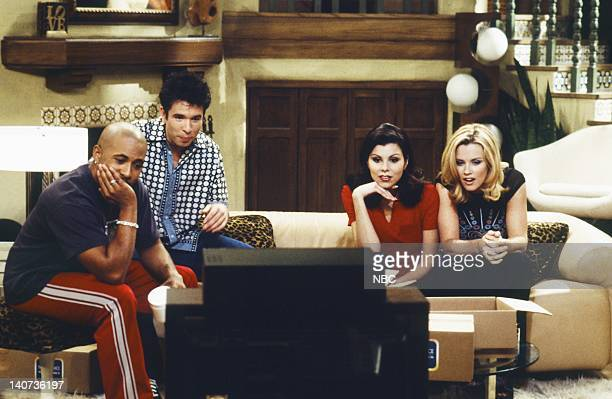 JENNY 'A Girl's Gotta Merger' Episode 9 Pictured Dale Godboldo as Cooper Rafer Weigel as Max Heather Paige Kent as Maggie Marino Jenny McCarthy as...