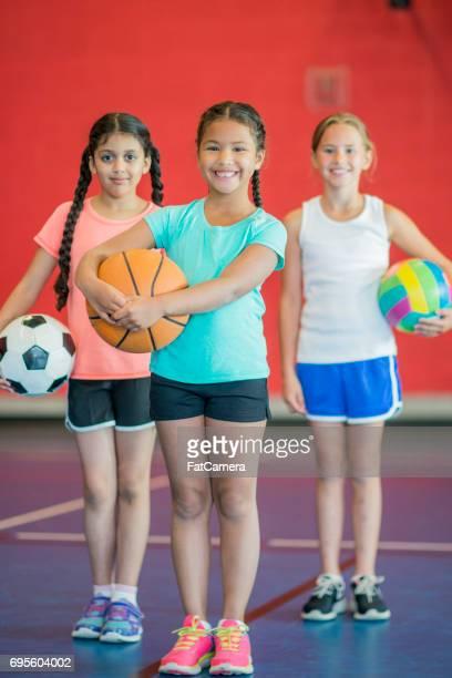 Girls' Gym Class