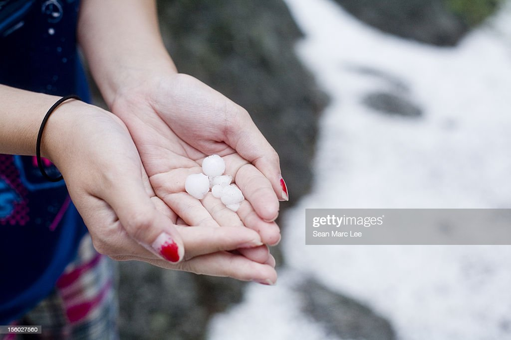 Holding Hands In A Storm