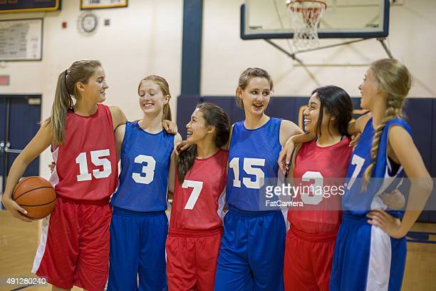 Girls high school basketball