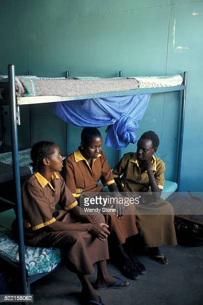 Girls in Boarding School in Kenya