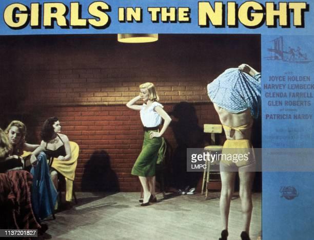 Girls In The Night lobbycard Patricia Hardy Joyce Holden 1953