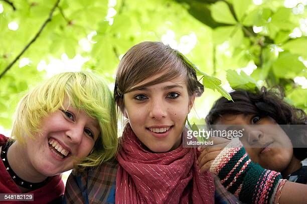 Girls in the park -