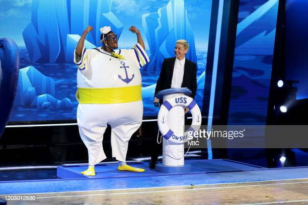 S GAME OF GAMES Girls Just Wanna Have Pudding Episode 316 Pictured Quinton Peron Ellen DeGeneres