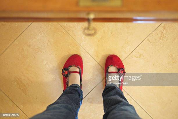 girl's legs in front of open drawer - girls open legs stock photos and pictures