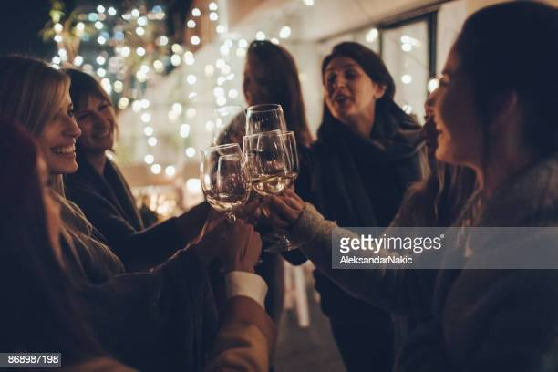 girls night out - ladies' night stock pictures, royalty-free photos & images