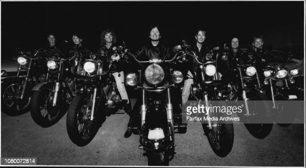 Girls On Harleys Wendy Low Lesley Williams Leon Micallef Barbara Mellon Katrina Bartlett Debbie Patterson amp Val Howell March 01 1991