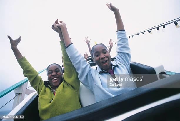 Girls on Rollercoaster