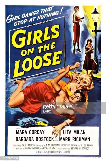 Girls On The Loose poster Mara Corday Lita Milan Joyce Barker 1958