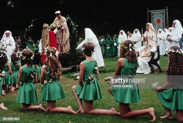 Girls Participate in the National Royal Eisteddfod in Swansea Wales
