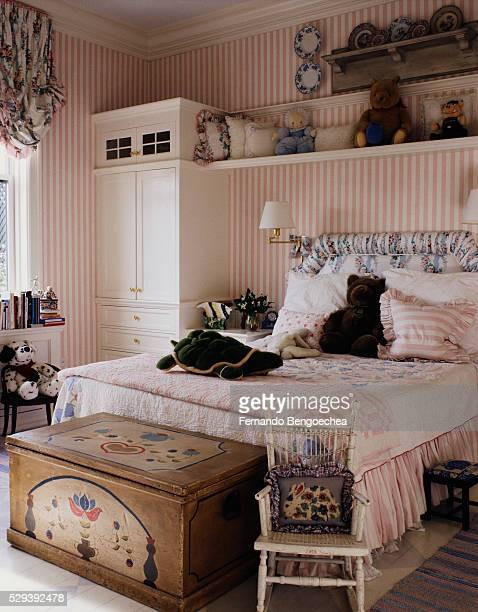 Girl's Room with Pink Accents