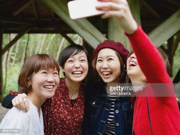 girls selfie - self portrait photography stock pictures, royalty-free photos & images