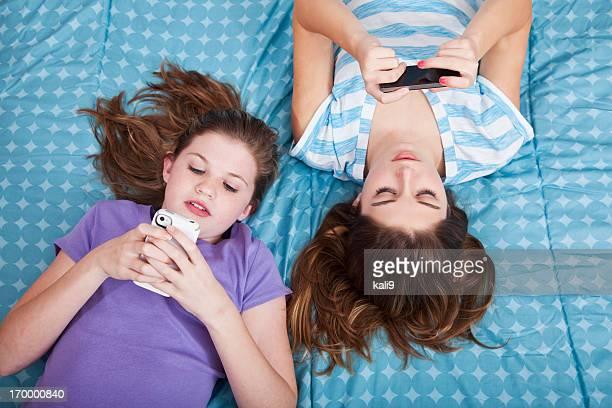 Mädchen SMS