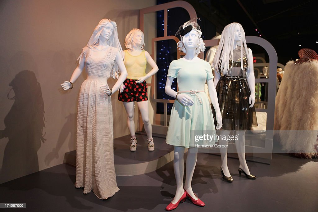 Girls' wardrobe displayed at The Academy Of Television Arts & Sciences' Costume Design & Supervision Peer Group 65th Primetime Emmy Awards Nominee Reception on July 27, 2013 in Los Angeles, CA.