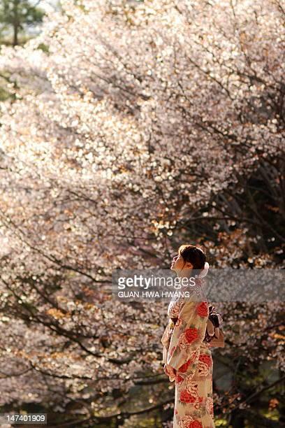 Girls wearing kimono