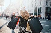 Girls who were Shopping