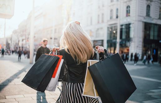 Girls who were Shopping 1142399373