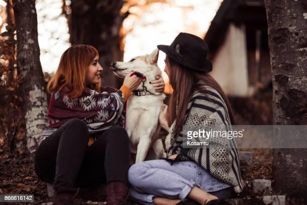 Girls With Husky