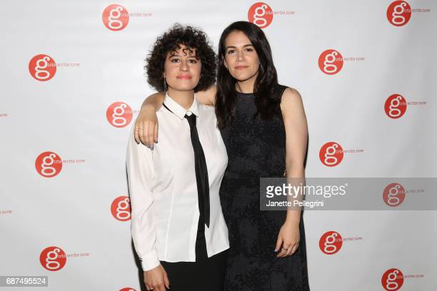 Girls Write Now Honorees Ilana Glazer and Abbi Jacobson attend the Fifth Annual Girls Write Now Awards at City Winery on May 23 2017 in New York City