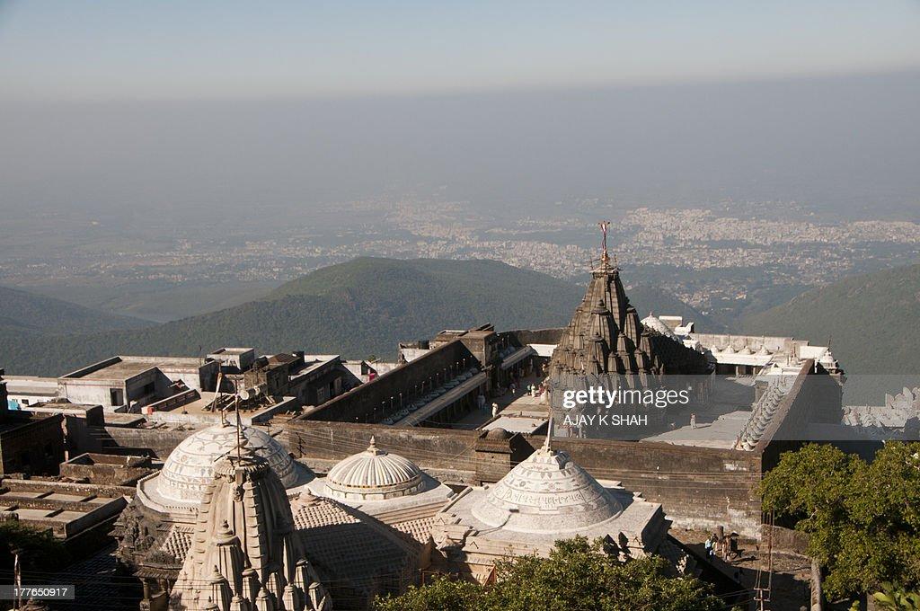 girnar jain temple : Foto de stock