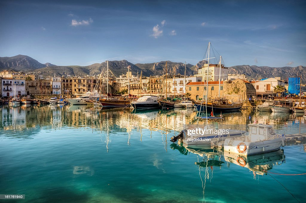 Girne ( Kyrenia ), North Cyprus : Stock-Foto