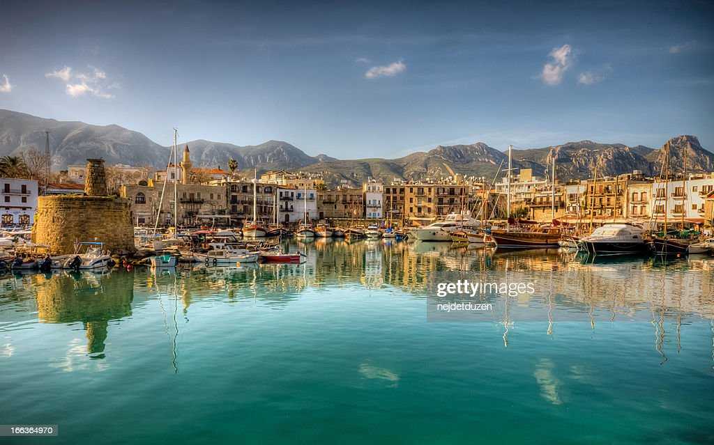 Girne( Kyrenia ), North Cyprus : Stock Photo
