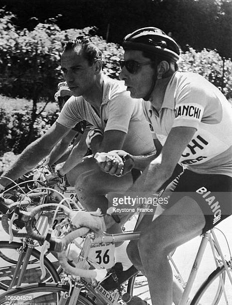 Giro D Italia Fausto Coppi And Hugo Koblet 1953