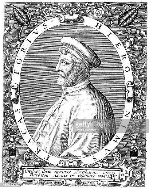 Girolamo Frascatoro Italian physician poet and astronomer late 16th century Frascatoro put forward the theory that diseases were caused by seedlike...