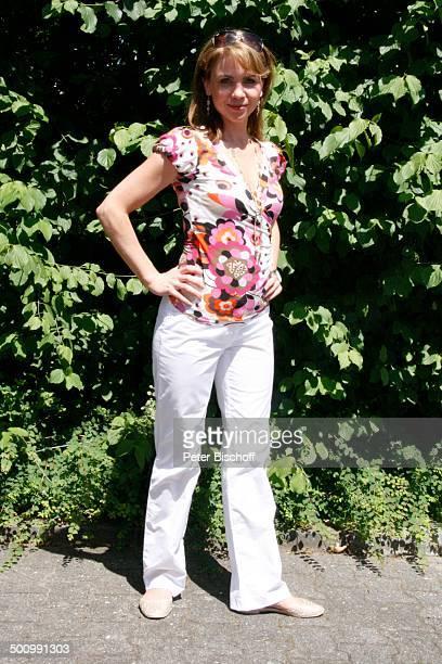 Gisa Zach ZDFShow Fernsehgarten Mainz Rheinlandpfalz Deutschland Europa Sendezentrum SoapStar Schauspielerin Promi NB FTP PNr 1061/07 Foto PBischoff...