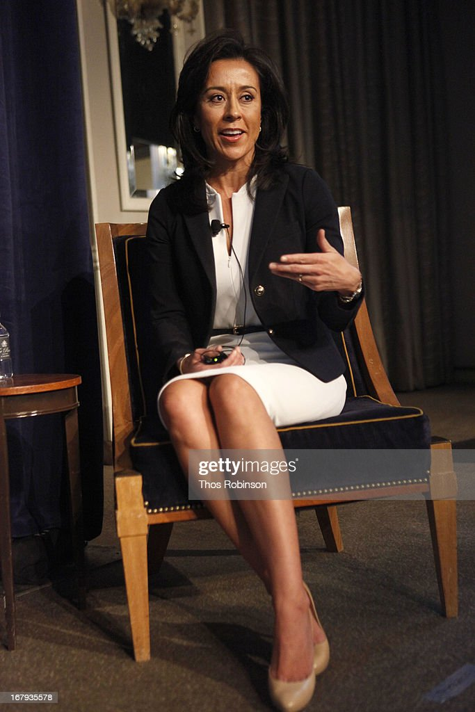 Gisel Ruiz, executive vice president & chief operating officer of Walmart, USA, and medal of honor recipient attends the USO Woman Of The Year Luncheon at The Pierre Hotel on May 2, 2013 in New York City.