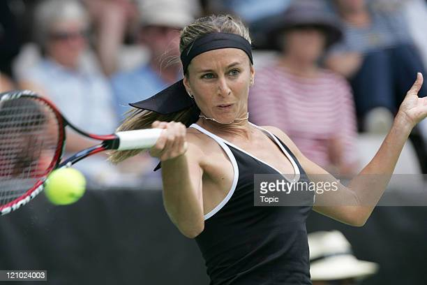 Gisela Dulko at the 2007 ASB Classic in Auckland, New Zealand on January 1, 2007.