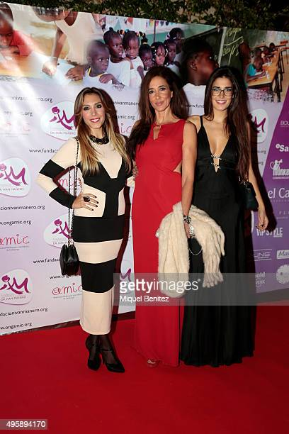 'Gisela' Gisela Llado Elsa Anka and Lydia Torrent attend the Charity Dinner 'Un Lapiz no escribe sin una mano' 'A pencil without a hand doesn't...
