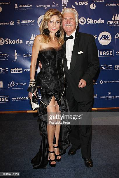 Gisela Muth and Hans Georg Muth at the UNESCO Charity Gala at the Maritim Hotel in Dusseldorf