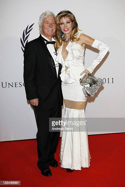 Gisela Muth and Hans Georg Muth attend the 20th UNESCO charity gala at Maritim Hotel on November 19, 2011 in Duesseldorf, Germany.