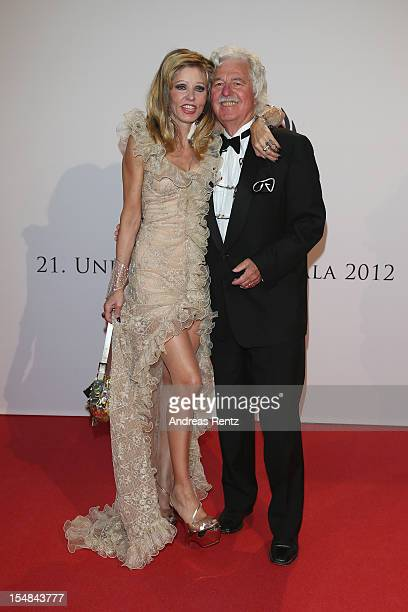 Gisela Muth and Hans Georg Muth attend the 21st UNESCO Charity Gala 2012 on October 27, 2012 in Dusseldorf, Germany.