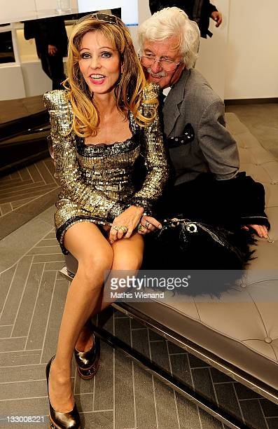 Gisela Muth and Hans Georg Muth attend the Grand Store Opening 'Philipp Plein' on November 15, 2011 in Duesseldorf, Germany.