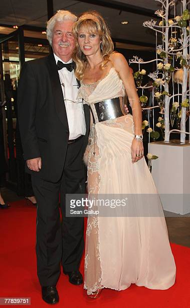Gisela Muth and her husband Hans Georg Muth attend the 14th AIDS Gala at the Deutsche Oper November 10 2007 in Berlin Germany
