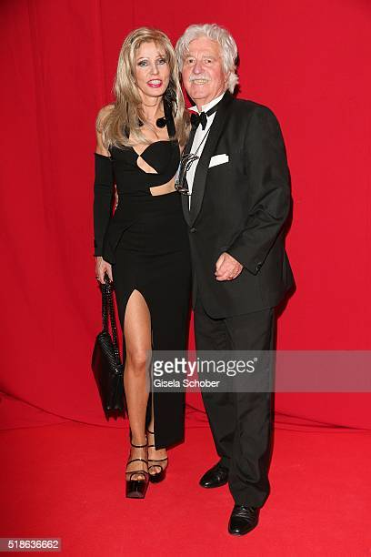 Gisela Muth and her husband Hans Georg Muth during the 7th 'Filmball Vienna' at City Hall on April 1 2016 in Vienna Austria