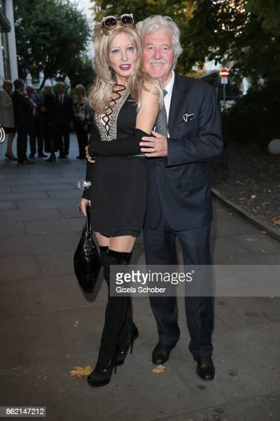 Gisela Muth and her husband HansGeorg Muth during the 2oth Busche Gala at The Charles Hotel on October 16 2017 in Munich Germany