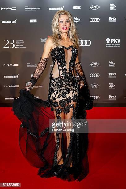 Gisela Muth arrives at the 23rd Opera Gala at Deutsche Oper Berlin on November 5 2016 in Berlin Germany