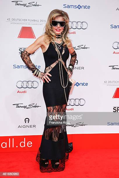 Gisela Muth attends the German Film Ball 2015 on January 17, 2015 in Munich, Germany.