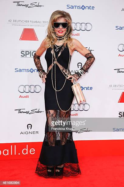 Gisela Muth attends the German Film Ball 2015 on January 17 2015 in Munich Germany