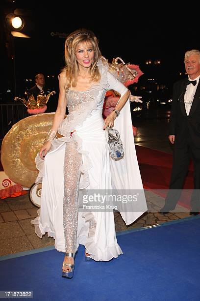 Gisela Muth the German Opera Ball In The Old Open In Frankfurt