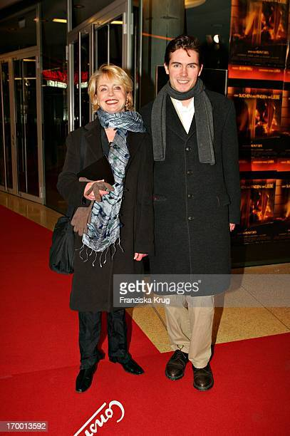 """Gisela Schneeberger and son Philipp Müller at The Premiere """"From Search And Find The Love"""" In Mathäser cinema in Munich 190105."""