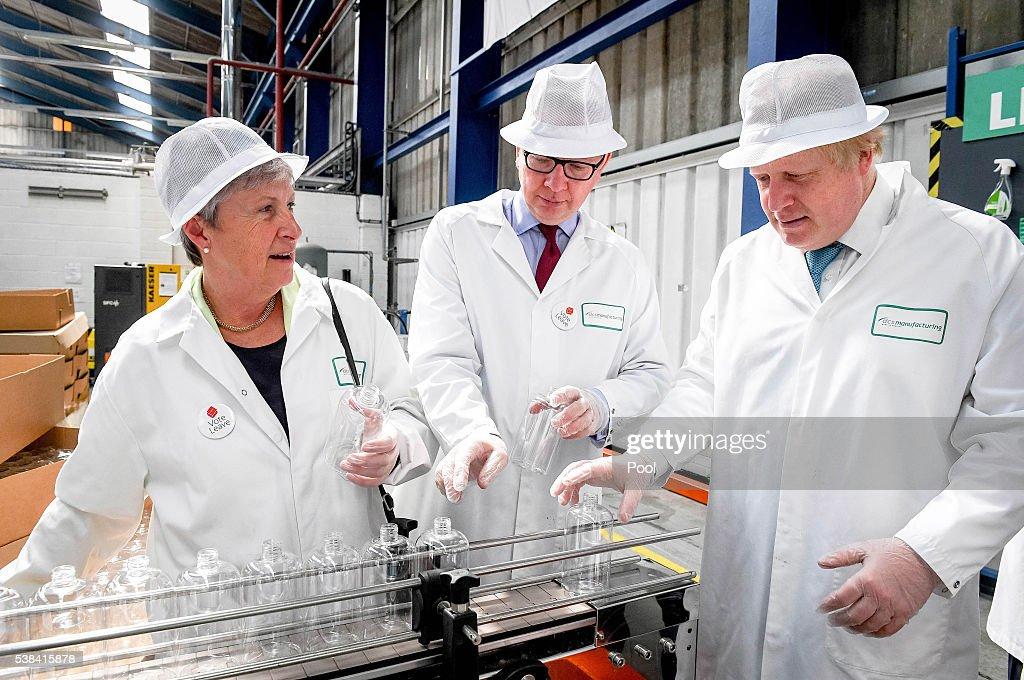 Boris Johnson, Vote Leave Campaign in Stratford-upon-Avo